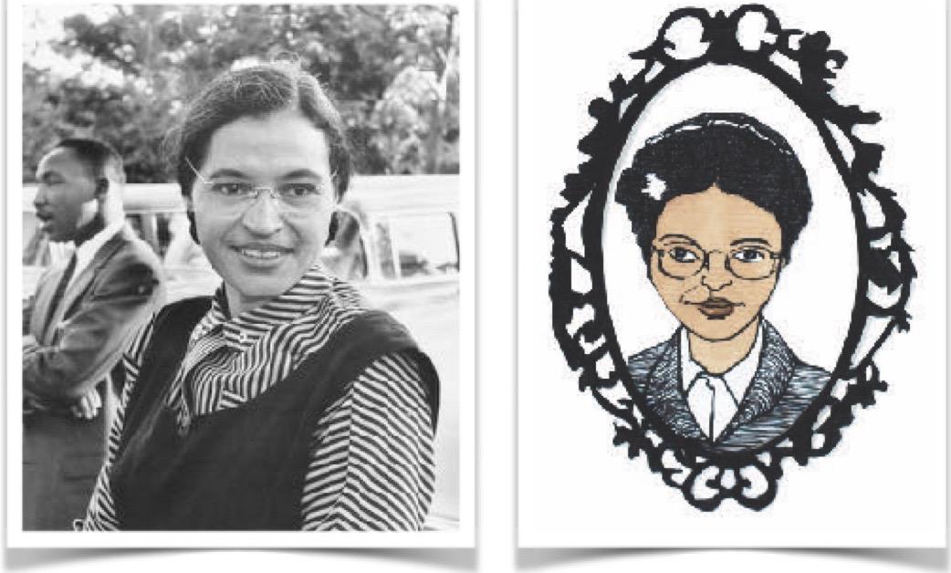 Rosa Parks, ejemplo de lucha contra el racismo