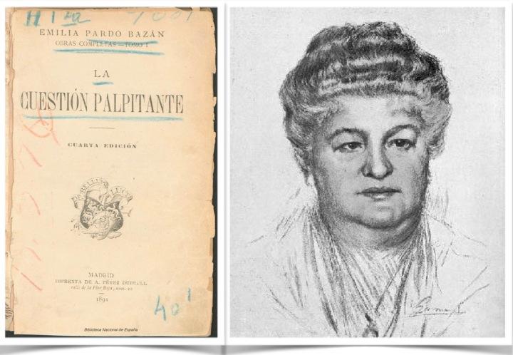 Emilia Pardo Bazán, pluma ilustre contra los prejuicios por ser mujer y precursora del naturalismo enEspaña